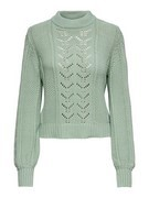 ONLKYLIE LIFE L/S PULLOVER KNT - Frosty Green