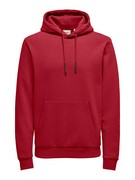 ONSCERES LIFE HOODIE SWEAT NOOS - Rio Red